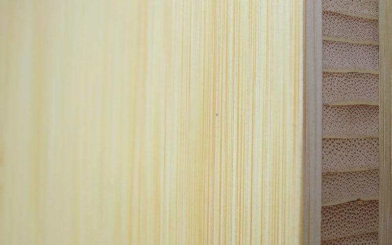 Bambus Natur Dreischicht