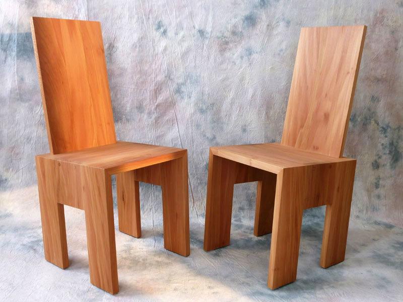 Stuhl Pisa Platane geölt
