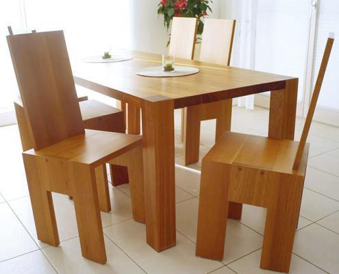 Stuhl Pisa mit Tisch Diessen